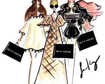 Custom fashion illustration, Custom logo, custom logo illustration, custom portrait, logo illustration, business logo,Digital file only