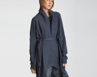 Buy 1 get 1 sale Knitted cardigan, blue sweater, Winter Coat, Stylish Jacket, Maxi sweater, Long Cardigan, Oversize Sweater, women jacket