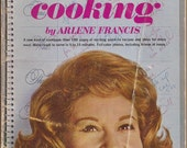 No Time For Cooking by Arlene Francis, Vintage Cookbook, Entertaining, Party Planning, 1961 Cookbook, Recipes, Tips, Color Photos, Fun Food