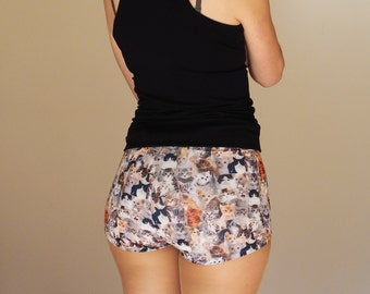 Kitty Cat Roller Derby Shorts - Pre-Order