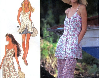 Style 2444 Sewing Pattern for Misses' Dress, Top, Shorts and Pants Sewing Pattern - Uncut - Size 6-16