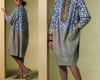 Vogue American Designer V1187 by Koos Van Den Akker Misses' Dress Sewing Pattern - Uncut - Size 6, 8, 10, 12