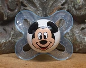 Mickey Mouse Custom Hand Painted Pacifier by PiquantDesigns