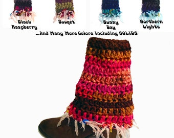 Women's Boot Cuffs, Fringed Boot Cuffs, Fairies And Pixies, Boot Toppers, Boho Clothes, Hippie Clothes, Festival Clothes
