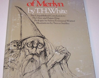 The Book of Merlyn by T.H. White, hardback