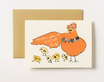 Under One Roof - Home is Where Mom is Greeting Card