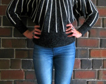 Vintage Stellar Bat Wing Sweater
