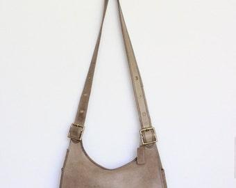 Vintage Coach Bag // Coach Large Hippie Saddle Bag RARE // Bonnie Cashin NYC Crescent Purse Handbag