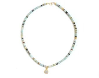Gemstone Choker - Necklace - Gemstone Choker