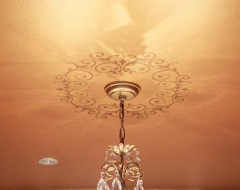 New Ceiling Medallion Design Decal