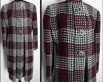 Vintage Pauline Trigere Coat | Designer Coat | Winter Coat | 1980s coat | Vintage 1980s Coat | 80s Coat | Pauline Trigere Coat |