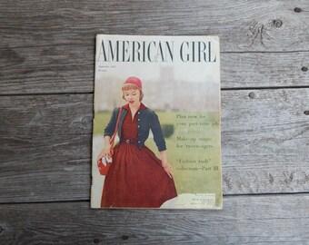 September 1957 American Girl Magazine