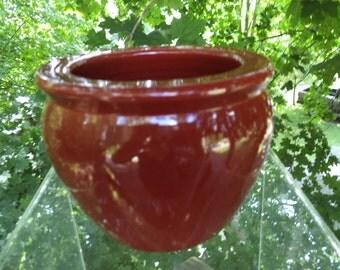 Vintage Ceramic Fish Bowl Bonsai Planter, Trinket, or Jewelry Bowl