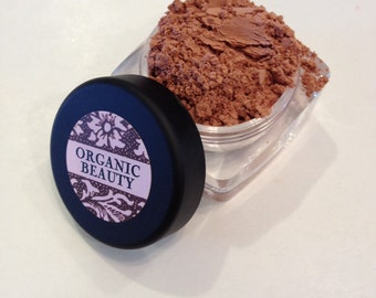 TERRA COTTA  BLUSH Organic Pretty matte peach Shade Organic Cosmetic Beauty Vegan Cruely Free
