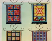 Melinda Blackman AMISH QUILTS I By Cross My Heart  - Counted Cross Stitch Chart