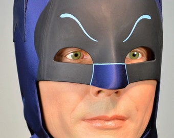 Deluxe Cosplay Cowl - caped crime fighter superhero costume mask