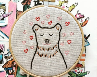 embroidery kit // Barry Charming - hand embroidery kit
