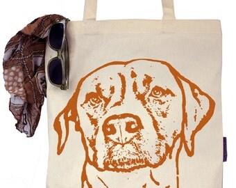Chloe the Ridgeback - Labrador - Vizsla mix - Eco-Friendly Tote Bag