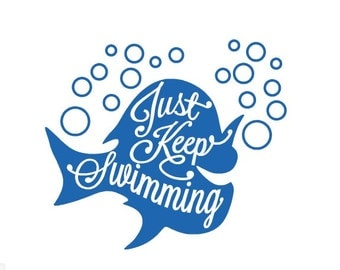 """Shop """"just keep swimming"""" in Paper & Party Supplies"""