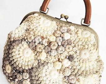 "Boho Eco Handmade Handbag ""Valerie"" (crocheted boho-chic eco-friendly handmade handbags buy)"