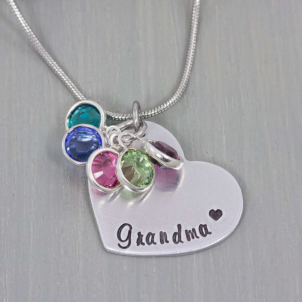 Hand stamped necklace personalized jewelry personalized for How to make hand stamped jewelry