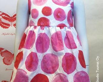 LENNYA printed cotton blend fabric