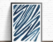 Minimalist art print. Decorative art. Ink print abstract art. Abstract painting print. Modern prints. Abstract print. Modern art print