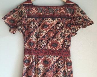 Hippie dress size xs to small