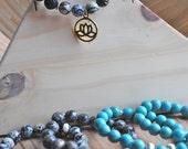Handmade Lotus Boho Beaded Bracelets