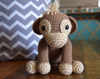 Amigurumi Baby Monkey Crochet Pattern