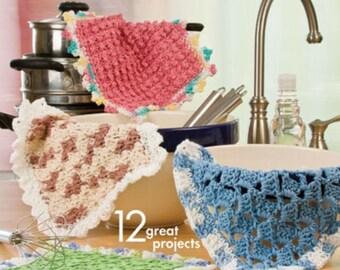 Crochet Pattern Book 2-Hour Dishcloths Brand New from Annie's Crochet