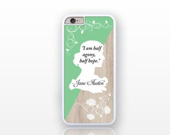 Jane Austen iPhone iPhone 6/6s case-iPhone 6 plus case-iPhone case 5/5S-Galaxy S4 case -Galaxy S5 case-Galaxy S6 by Natura Picta-NP089