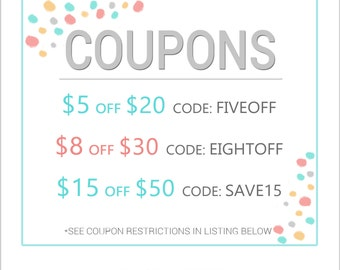 Coupons and Sales for Lemon Paperie Shop