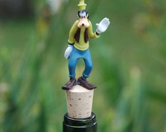 Goofy Wine Bottle Stopper