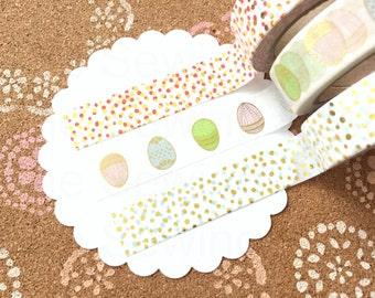 Washi Tape Set: Easter Egg Hunt