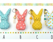 Rabbit key-chain - Bunny Key ring
