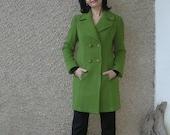 ON SALE: Vintage Double Breasted Bouclé Coat size S-M