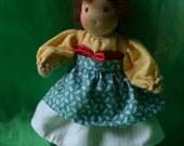 hobbit doll, hobbit girl, waldorf doll, waldorf hobbit