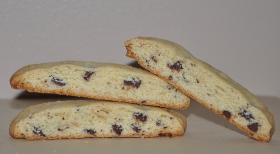 Biscotti  Cookies Chocolate Chip  Holiday Cookies Gift