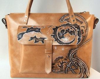 Leather bag brown bag handmade bag convertible bag women bag leather bag for women classical bag casual bag leather bag SALE 25%
