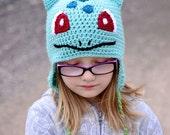 Bulbasaur hat, Pokemon, Crochet By Allie