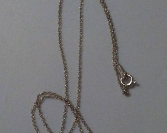 Authentic Tiffany Sterling Silver Love KNOT Necklace