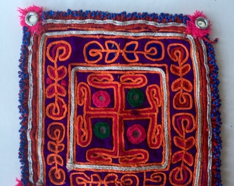 Bedouin Mirror Work Dowry Placemat