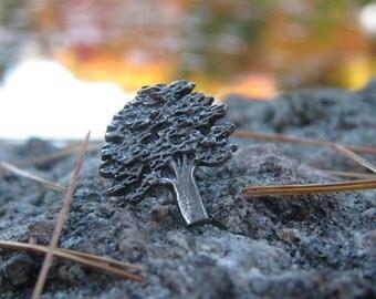 Oak Tree Lapel Pin - CC363
