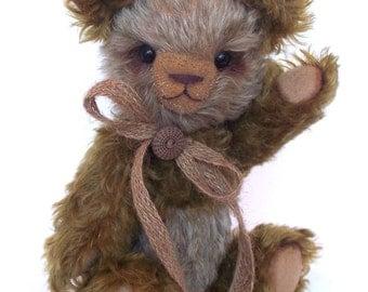 "Artist Mohair Teddy Bear Panda 10"""