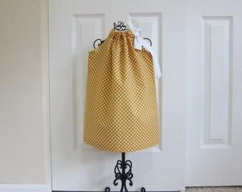 Pillowcase Dress  -   FALL DRESS -  EASTER  Dress  -  Toddler Girls  -   2T  Dress -  Ready to ship  By Emma Jane Company