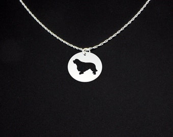 Clumber Spaniel Necklace - Clumber Spaniel Jewelry - Clumber Spaniel Gift