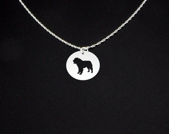 Saint Bernard Necklace - Saint Bernard Jewelry - Saint Bernard Gift - St Bernard Necklace - St Bernard Jewelry - St Bernard Gift