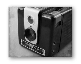 Photo Print Brownie Hawkeye Camera Photo Art, Camera still life decor, Camera Collector Decor, Spartus Camera photo, Brownie Hawkeye Print