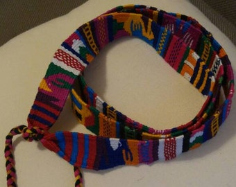 Western / Mexican Woven Belt   Size S